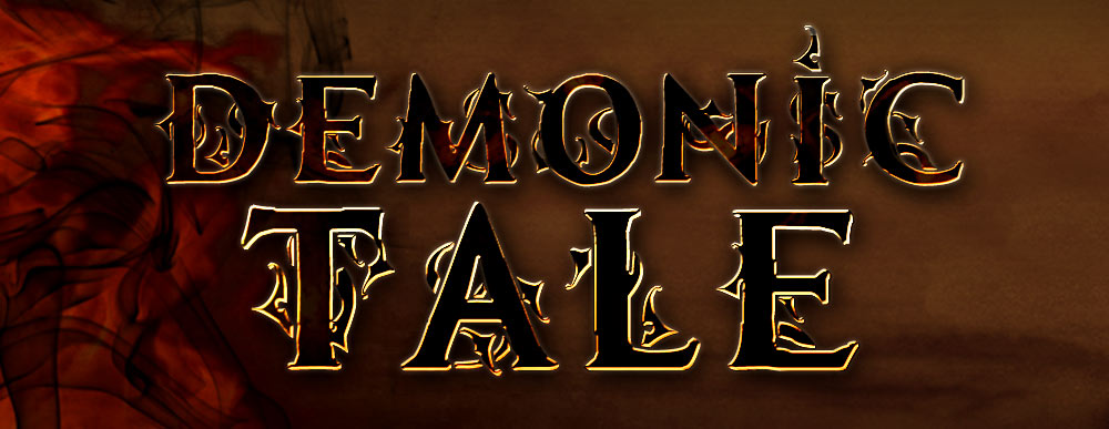 MB-Demonic Tale Roman Style font with Ornaments