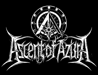 Ascent of Azura - Fantasy, Metal Band Logo Design, Morrowind inspired