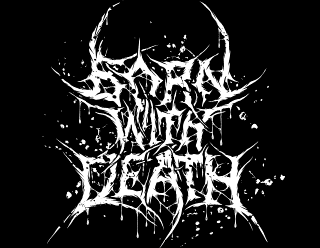Born With Death - Brutal Death Metal Band Logo Drawing