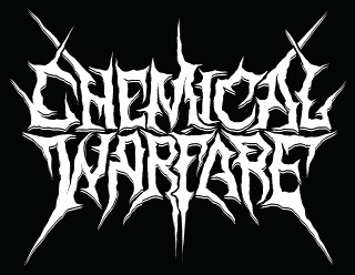 Chemical Warfare - Cool Readable Death Black Metal Logo Design