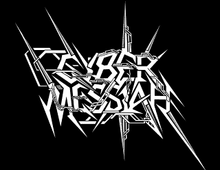 Cyber Messiah - Spiked Thrash Metal Band Logo Design