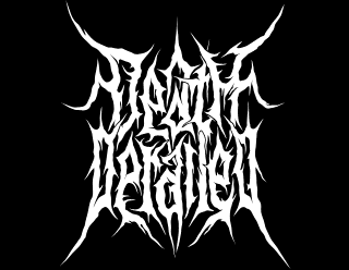 Death Derailed - Brutal death metal band logo design