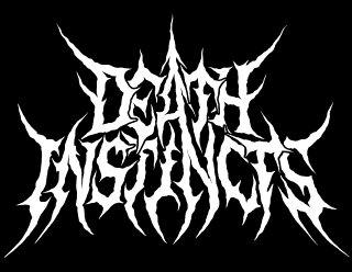 Death Instincts - Traditional Hooked Death Metal Band Logo Design
