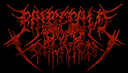 Fairytale of Oblivion - Metal Brutal Bandlogo Design with Skulls and Spikes