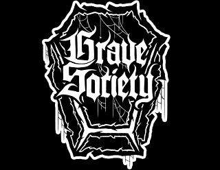 Grave Society - Gothic Metal Band Logo Emblem Design