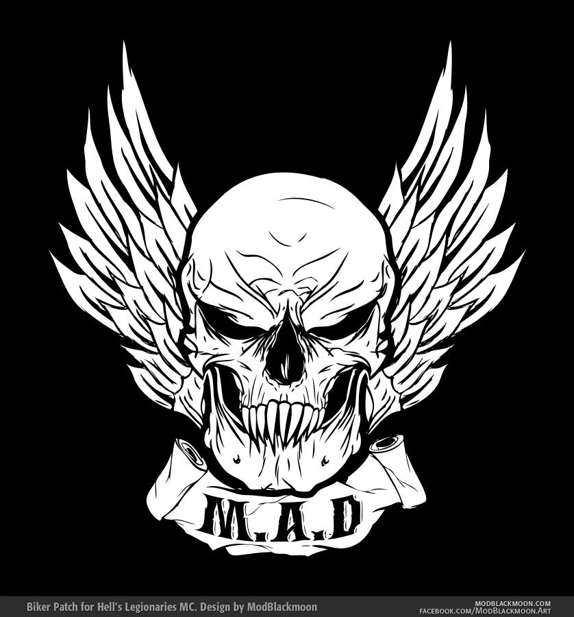Death Metal, Black Metal Band Logo Design