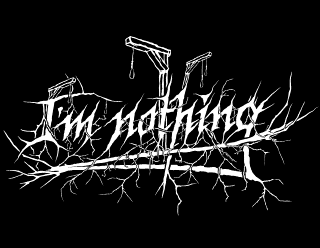 I'm Nothing - Depressive, Suicidal Black Metal Band logo Design with Scaffolds and Ropes
