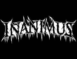 Inanimus - Death Metal Band Logo Design with Outline