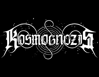 Kosmognozis - Cosmic, Space Black Metal Logo Design