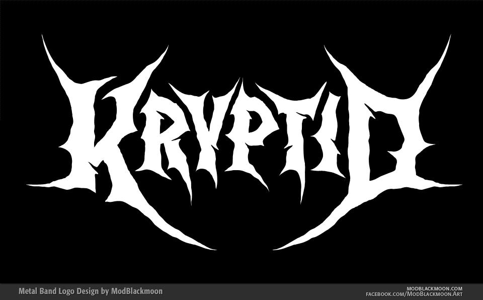 ModBlackmoon   Death Metal, Black Metal Band Logo Design ...