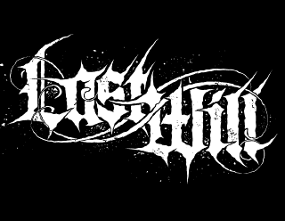 Last Will - Cool Metalcore, Deathcore Logo Design by ModBlackmoon