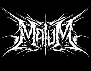 Malum - Black Metal Band Logo Design