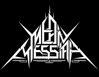 Mean Messiah - Death Thrash Metal Band Logo Design in Trianglr Shape