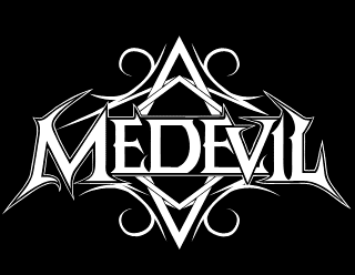 Medevil - Legible Classic Metal Band Logo Design