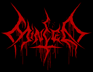 Minced - Death Metal Bloody Logo Drawing