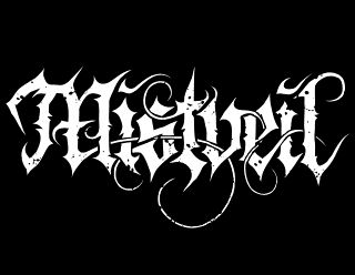 Mistveil - Legible Metal Band Logo Design