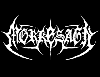 Hooked Black Metal Logo Design for Morkesagn