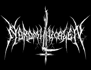 Noromi LucaleN - Raw Black Metal Logo Design with Scythe and inverted Cross