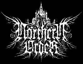 Northern Order - True Raw Black Metal Band Logo Design with Cathedral