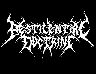 Pestilential Doctrine - Metal Band Logo Design