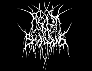 Realm of Shadows Black Metal Logo Design with branches and roots by ModBlackmoon