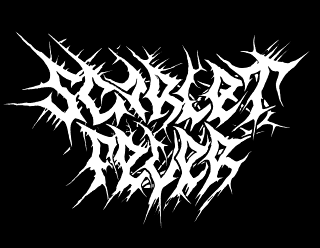 Scarlet Fever - Rough, Spiked Metal Band logo design