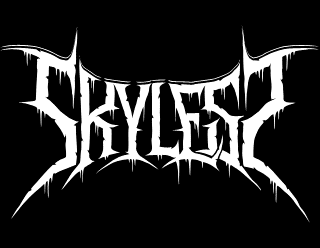 Skyless - Clean, Legible Death Metal Band logo Design