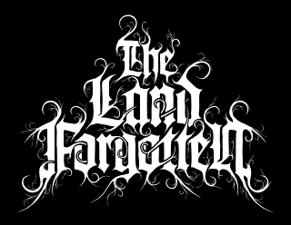 The Land Forgotten - Classic Elegant Black Metal Logo Design