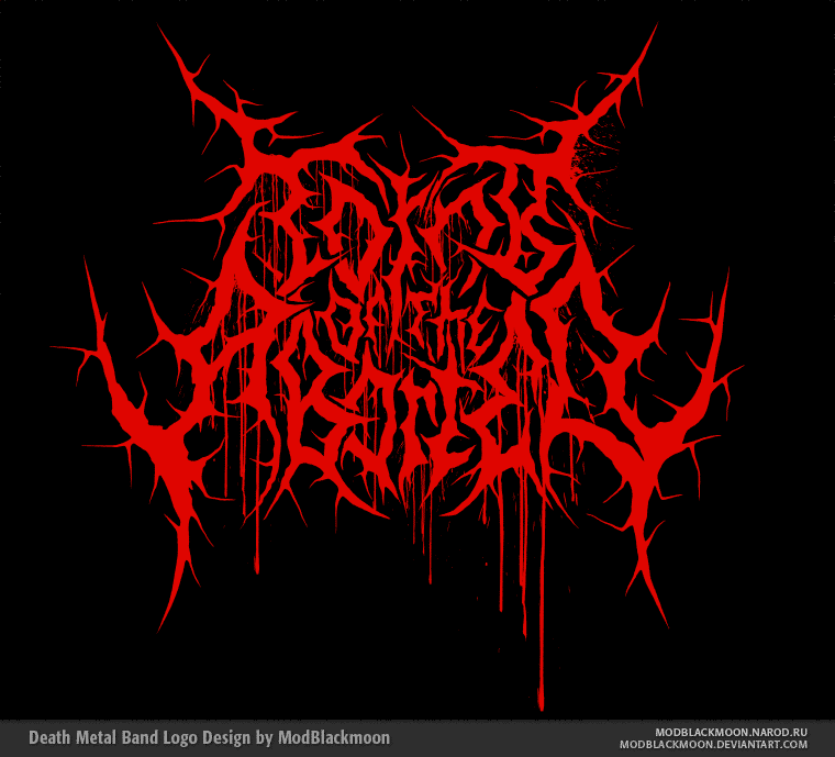 ModBlackmoon | Death Metal, Black Metal Band Logo Design ...