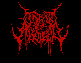 Tomb of the Aborted - Old School Brutal Death Metal Band Logo Drawing