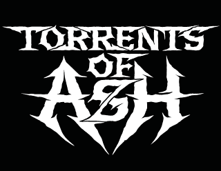 Torrents of Ash - Legible death metal band logo design