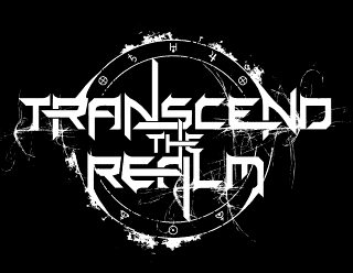 Transcend the Realm - Futuristic, Space Metal Band Logo Design