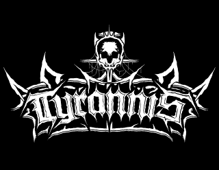 Tyrannis - Old School Black Metal band logo design