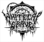 Whitecap Grave - Metal Band Logo Drawing, Logotype with  mystic Symbol