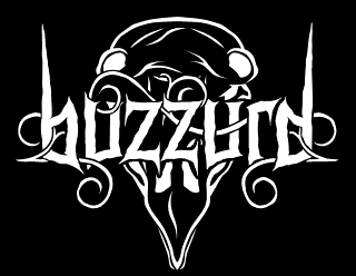 Buzzurd - Sludge Doom Metal Band Logo Design
