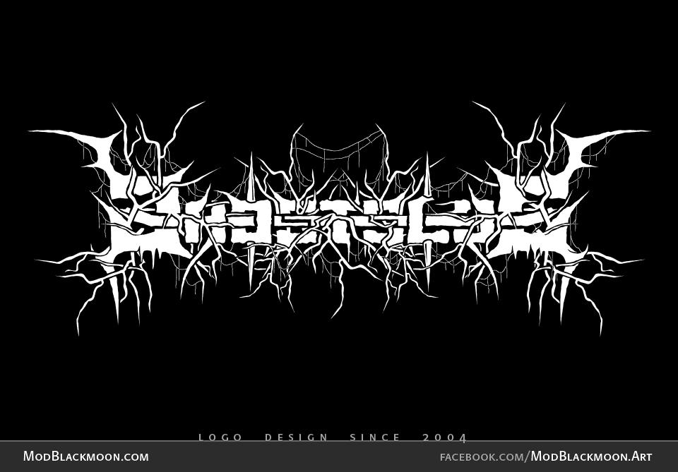 Futuristic Metal Bands Raw Black Metal Band Logo