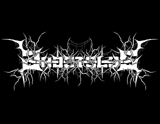 Ghostslug - Futuristic, Raw Black Metal Band Logo Design