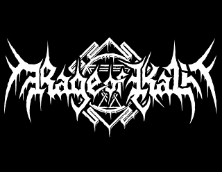 Rage of Kali - Russian Black death Metal Band Logo Design