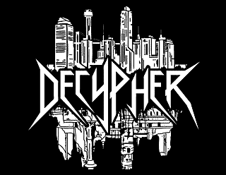 Decypher Thrash Metal Band Logo Design