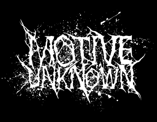 Motive Unknown Brutal Death Metal Band Logo