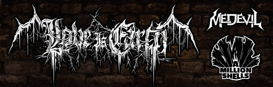 Professional Custom Black Death Metal Band Logo Design