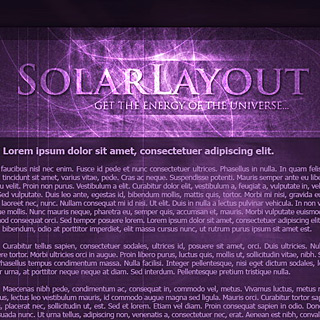 Abstract, fantasy, Magic Web-Template Preview